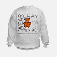 Juvenile Diabetes Awareness for Sister Sweatshirt
