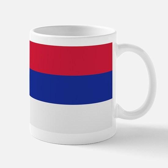 Serbia flag Mug