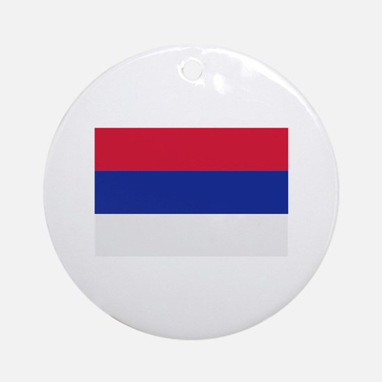 Serbia flag Ornament (Round)