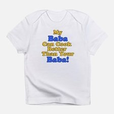 My Baba Cook Better Infant T-Shirt