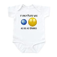 Pluto As Big As Uranus Infant Creeper