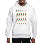 Bassett Hound Christmas or Holiday Silhouette Hood