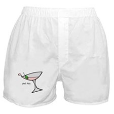 DON'T SPILL MY MARTINI Boxer Shorts