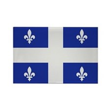 Quebec Canada flag Rectangle Magnet