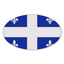 Quebec Canada flag Decal