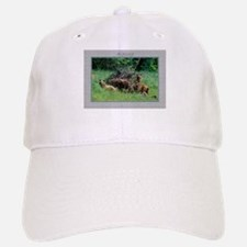Alaska Brown Bear Cubs Baseball Baseball Cap