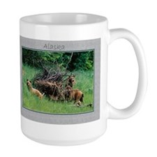 Alaska Brown Bear Cubs Mug