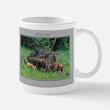 Alaska Brown Bear Cubs Mug