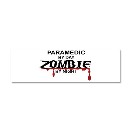Paramedic Zombie Car Magnet 10 x 3