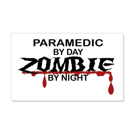 Paramedic Zombie 20x12 Wall Decal