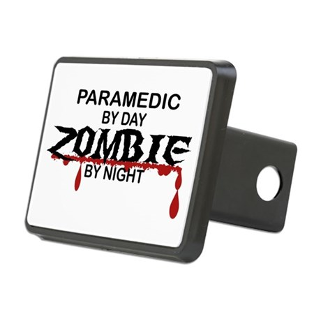 Paramedic Zombie Rectangular Hitch Cover