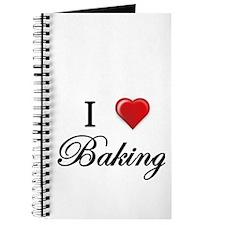 I Love Baking Journal