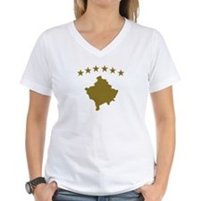 Kosovo map flag Shirt