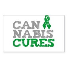 Cannabis Cures Decal