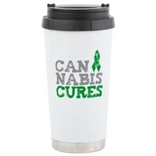 Cannabis Cures Travel Mug