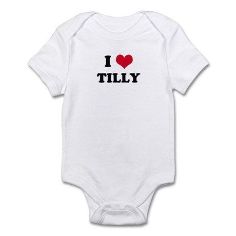 I HEART TILLY Infant Creeper