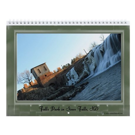 Falls Park Wall Calendar