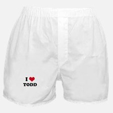 I HEART TODD Boxer Shorts