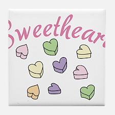 Sweetheart Tile Coaster