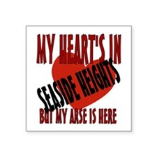 "Seaside Heights Square Sticker 3"" x 3"""