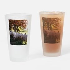 Fall Colors Drinking Glass