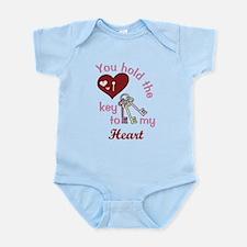 You Hold The Key Infant Bodysuit