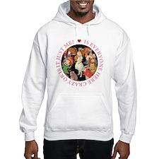 Is Everyone Here Crazy? Hoodie Sweatshirt