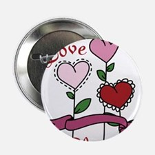 "Love Is In Bloom 2.25"" Button"