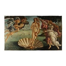 Botticelli Birth Of Venus 3'x5' Area Rug