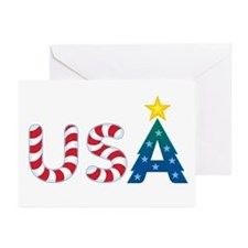 USA Christmas: Greeting Cards (Pk of 10)