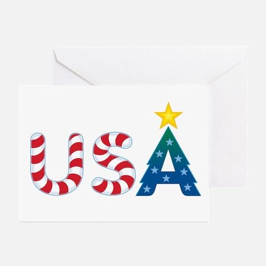 USA Christmas: Greeting Cards (Pk of 10)