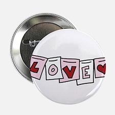 """Love Banner 2.25"""" Button"""