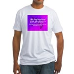 Metaphysical Christianity TShirt Fitted T-Shirt