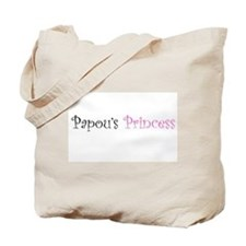 Papous Princess Tote Bag