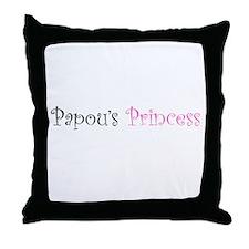 Papous Princess Throw Pillow