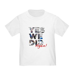 Yes We Did (Again): Obama 2012 T