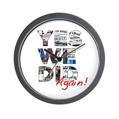 Yes We Did (Again): Obama 2012 Wall Clock