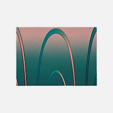 Twilight Surf 5'x7'Area Rug