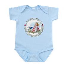 I'm Late, I'm Late! Infant Bodysuit