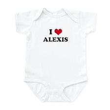 I HEART ALEXIS Infant Creeper