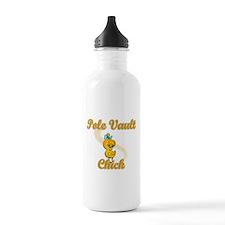 Pole Vault Chick #2 Sports Water Bottle