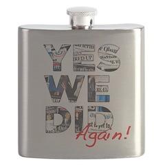 Yes We Did (Again): Obama 2012 Flask