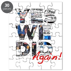 Yes We Did (Again): Obama 2012 Puzzle