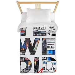 Yes We Did (Again): Obama 2012 Twin Duvet