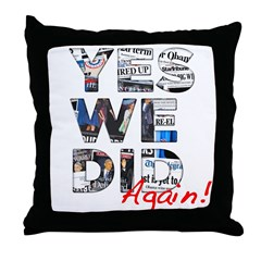 Yes We Did (Again): Obama 2012 Throw Pillow