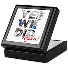 Yes We Did (Again): Obama 2012 Keepsake Box