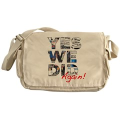 Yes We Did (Again): Obama 2012 Messenger Bag