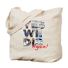 Yes We Did (Again): Obama 2012 Tote Bag