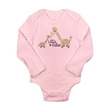 Cute Matching sibling Long Sleeve Infant Bodysuit