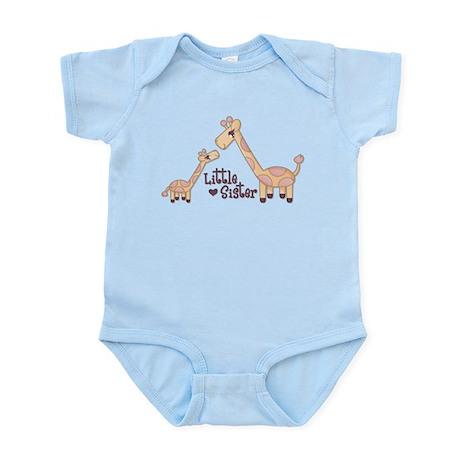 Little Sister Giraffe Body Suit